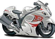 Suzuki Hayabusa White-Red Bike Greeting Card for Sale by Maddmax Suzuki Hayabusa, Jaguar Xk, Jaguar E Type, New Sports Cars, Sport Cars, Custom Sport Bikes, Custom Motorcycles, Cafe Racer Build, Harley Davidson News
