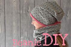 DIY, Nähanleitung, Beanie, Mütze, nähen lernen