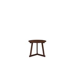 Ethnicraft© - Products » Occasional Tables »Walnut Tripod side table