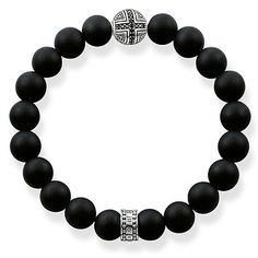 fad5b4bc46f6 A1355 Bracelet with Cross Accent Bead. PulserasBijouterieJoyasPulseras ...