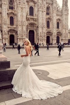 Eddy K Milano MD196- Find gown @ De Ma Fille Bridal in Ft. Worth, TX. 817.921.2964, www.demafille.com