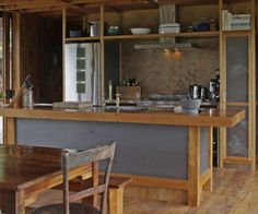 Coromandel corrugated iron home breaks with convention - Homes To Love