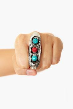 #nastygal.com             #ring                     #Totem #Stone #Ring       Totem Stone Ring                                    http://www.seapai.com/product.aspx?PID=1500710