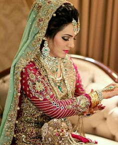 Pakistani bride:)