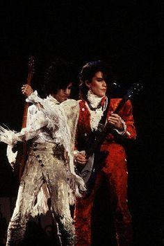 Fantastic Purple Rain Tour rare concert photos!