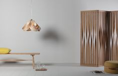 The steam bent Gwelsen Screen by Tom Raffield, handmade using sustainably sourced wood. Shop our complete contemporary designer furniture range here. Furniture Design, Spring Interiors, Contemporary Furniture Design, Furniture, Interior, Screen, Contemporary, Tom Raffield, Home Decor