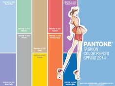 10 Formica® Laminate Matches to the Pantone® Fashion Color Report Spring 2014 #trend