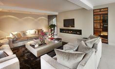 Woonkamer met deuren van Bod'or - Design by Eric Kuster - Residential - Deuren: Franklin John - George