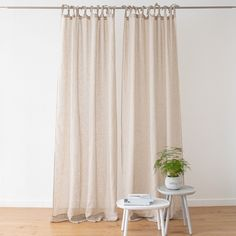 The Garza curtain with rod pocket is a super-light curtain with a delightfully sheer quality. It hangs beautifully and will add a simple elegance to your interior. Rod Pocket Curtains, Linen Curtains, Curtain Fabric, Simple Elegance, Elegant, Curtain Lights, Textiles, Luxury, Interior