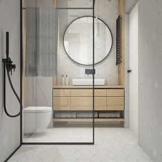 Dreaming of a designer or luxury bathroom? We've gathered together lots of gorgeous bathroom ideas for small or large budgets, including baths, showers, sinks and basins, plus bathroom decor ideas. Mid Century Modern Bathroom, Modern Master Bathroom, Bathroom Spa, Minimalist Bathroom, Bathroom Faucets, Small Bathroom, Bathroom Ideas, Bathroom Organization, Bathroom Bench