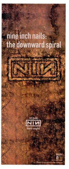 """Nine Inch Nails, """"The Downward Spiral"""" [1994]"""