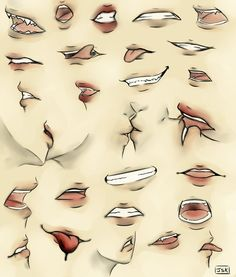 Mouth Practice by Juuria66 on DeviantArt