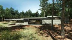 Concrete Forrest House