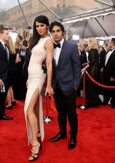 Kunal Nayyar and wife