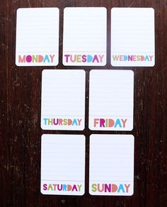 kristy.makes: project life: free printables (Lots more when you click on link)