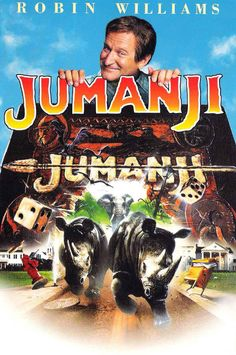 Jumanji - I watched this movie so many times. Loved Robin Williams in it. This was the first movie that I actually seen Kirsten Dunst in too. She was just a child then. Very funny movie that the whole family can enjoy! Jumanji 1995, Jumanji Movie, Film Movie, See Movie, They Live Movie, Movie Plot, Kirsten Dunst, Movies Showing, Action Movies
