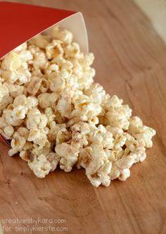 Cinnamon Glazed Popcorn - This recipe is a family favorite!