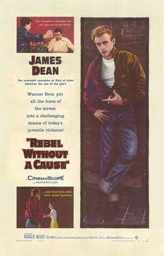 """""""Rebelde sin Causa""""... con el famoso James Dean.   -lbk-"""