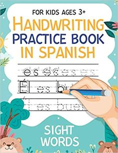 Handwriting Practice Book in Spanish Sight Words: Workbook 8, 5x11 inches: Publishing, Carrizales: 9798664265583: Amazon.com: Books Cute Journals, Handwriting Practice, Kindle App, First Order, Sight Words, Machine Learning, Book Recommendations, Work Hard, Spanish