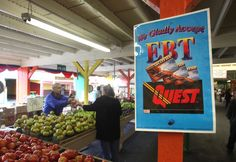 Food Stamps at farmer's market - Rich Pedroncelli/AP Photo