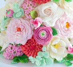 Sugar flowers by Lulu's Sweet Secrets