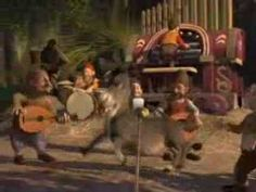 """I'm A Believer"" Smash Mouth (Shrek Music Video) School Songs, School Videos, School Fun, Broken Song, Broken Video, Movement Activities, Music And Movement, Dreamworks, Brain Break Videos"