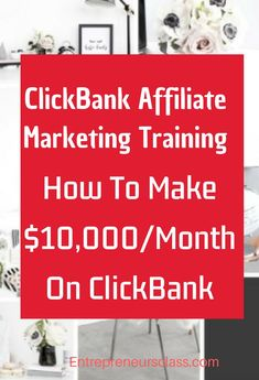 Want to learn step by step guide to make money on Clickbank? Check ClickBank University taught by Clickbank experts who are making 7 figure on Clickbank per year. If you want to start Clickbank affiliate marketing, this training will help you to sell Affiliate Marketing, Marketing Program, Marketing Training, Marketing Strategies, Marketing Ideas, Internet Marketing, Online Marketing, Digital Marketing, Business Marketing