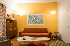 Located in the Exarchia area of Athens, Style Apartment by Strefi Hill offers self-catering accommodations with free WiFi access just steps from bars,. Free Wifi, Athens, Greece, Couch, Furniture, Home Decor, Style, Homemade Home Decor, Sofa