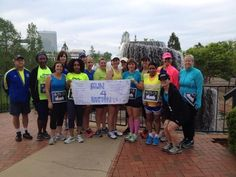 Strictly Runnings Heart & Sole Training Team made up of mostly brand new runners sending love and prayers to Boston this morning from Columbia, South Carolina