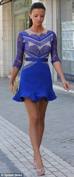 gorgeous blue dress!!!