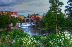 Otter Creek in Middlebury, Vermont