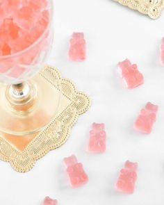 It's Friday night and time to bring out the boozed up gummies! 📸: Pinterest #boozybears #rosegummies #tgif #bigsale #discount #deals #saledepot