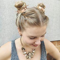 Jen Atkins Bun Cuff's www.chloeandisabel.com/boutique/angeliquemc