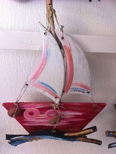 seaside mykonos furniture: Διαφορα καραβακια σκαλιστα ψαρια, βαρκουλες απο ξυλα της θαλασσας για πωληση χονδρικη