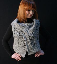 Viviana Crocheted Vest free pattern