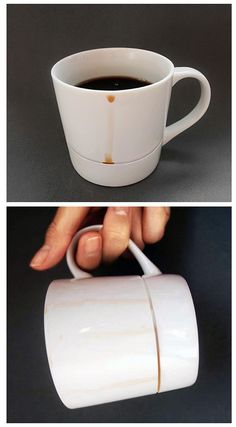 Drop Rest Mug  by Yanko Design