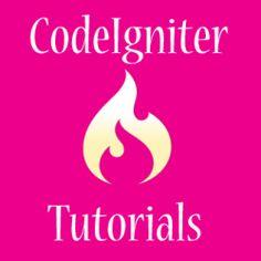 a list of codeigniter tutorials as series