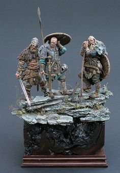 Vikings painted by Michael Volquarts