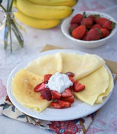 Not sure yet if they in fact are foolproof... but they are called foolproof crepes!