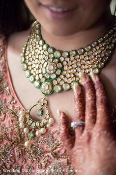indian bridal jewelry http://www.maharaniweddings.com/gallery/photo/70633 @vijayrakhra