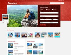 14 Free Travel Website Templates