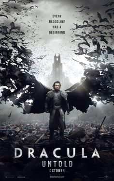 Dracula Untold poster .. don't know anything about the movie but like the poster !