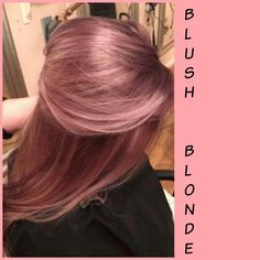 Blush blonde