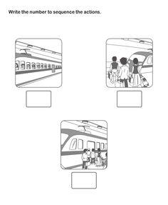 math worksheet : picture sequence worksheet 18  esl efl worksheets  kindergarten  : Sequencing Worksheets Kindergarten