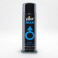 Lubrikant Pjur man - na vodni osnovi - Popestritev. Aqua, How To Make, Water