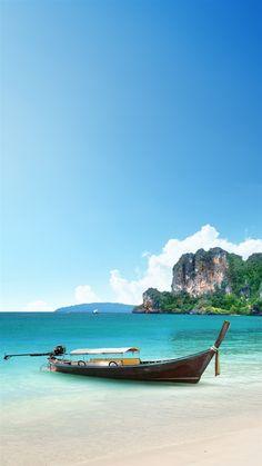 Beach Corner. 12 Paradise On Earth Wallpapers | @mobile9 #landscape #seaside #ocean #nature