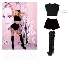 """""""ARIANA GRANDE STEAL HER STYLE"""" by outfit-dreamers ❤ liked on Polyvore featuring adidas Originals, Fendi and Cartier"""