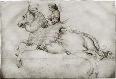 Ross and rider Artist: Jacopo Bellini Bellini, Renoir, Knight On Horse, Good Knight, Dark Artwork, European Paintings, Art Database, Animal Sketches, Art Graphique