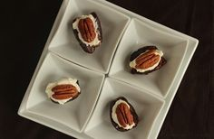 Datteri Ripieni con Mascarpone e Noci (Stuffed Dates with Mascarpone Cheese and Nuts) - Passion and cooking