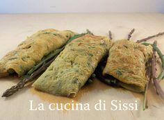 FRITTATINE  CON  ASPARAGI SELVATICI E  ZUCCHINE http://blog.giallozafferano.it/cucinasissi/frittatine-con-asparagi-e-zucchine/